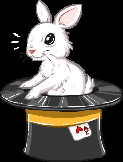 Martin le magicien - Joli lapin